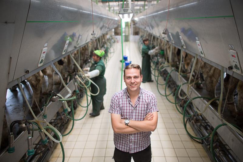 Антон Смитс все детство и юность провел на фермах ЕС. Впереди— такая же жизнь в Украине