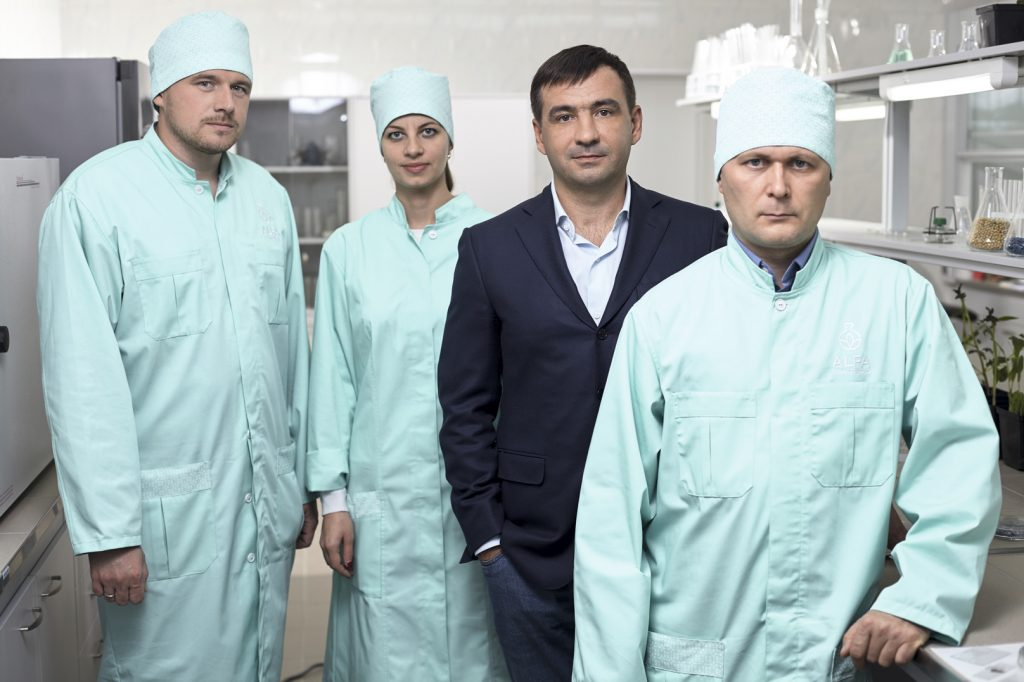 Специалистов для ALFA Smart Agro Тодоров искал несколько лет