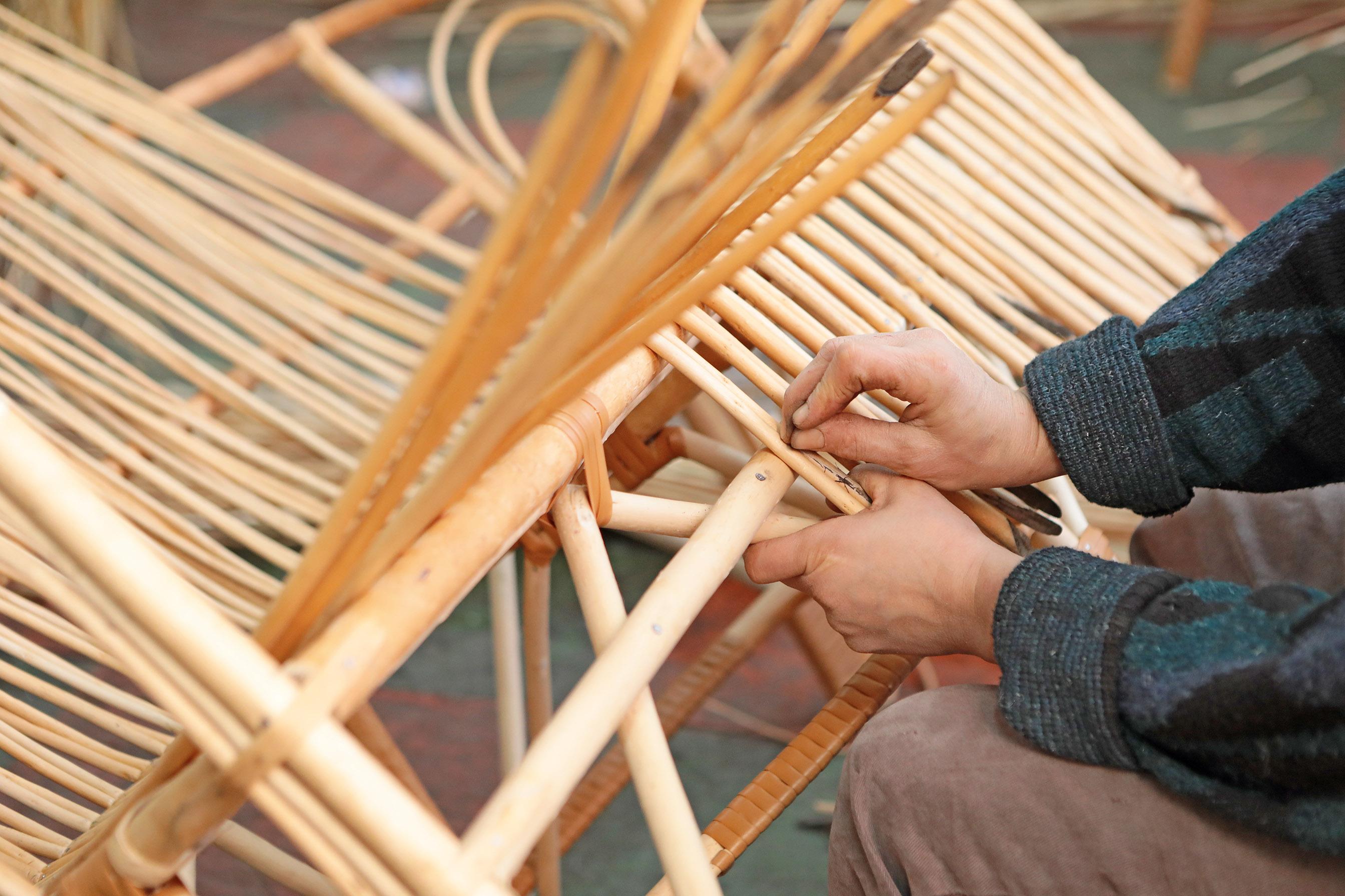 Как сплести садовую мебель своими руками